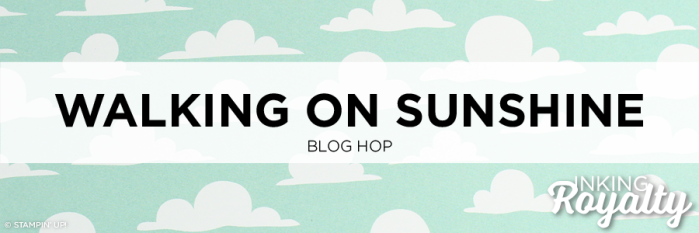 Walking on Sunshine Blog Hop - InKing Royalty